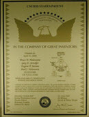 Picture of Gravic Labs U.S. Patent