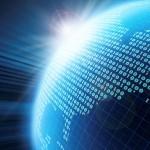 Stock photo of digital globe