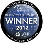 Mission Critical Innovation Awards Logo: Best New Application Winner 2012