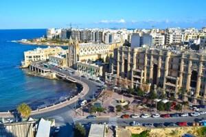 Stock photo of beautiful island city