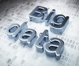 Stock photo of big data with binary numbers in background